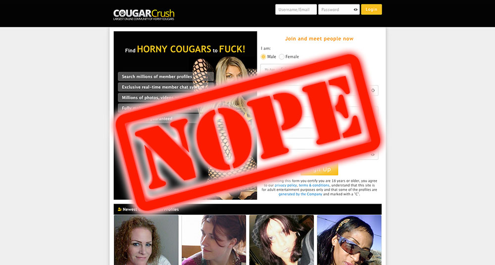 How To Get Laid At CougarCrush.com