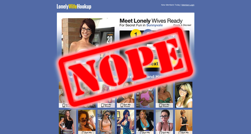 How To Get Laid At LonelyWifeHookup.com
