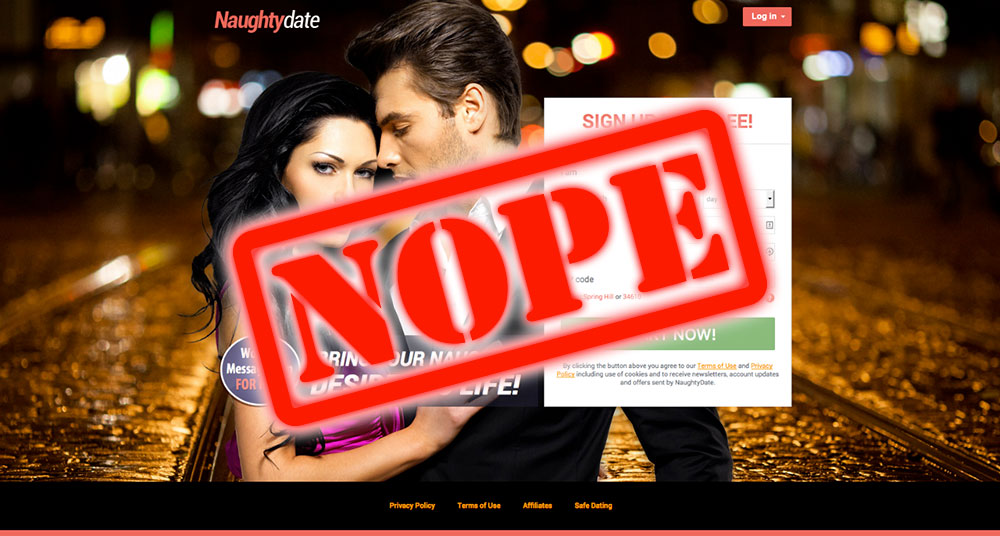 How To Get Laid At NaughtyDate.com