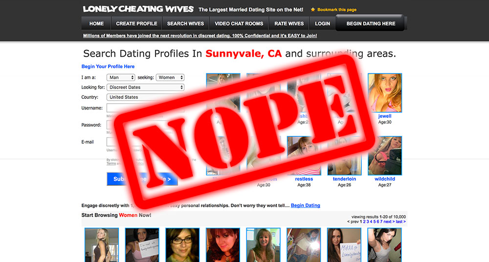 How To Get Laid At LonelyCheatingWives.com – Still lonely because you don't!